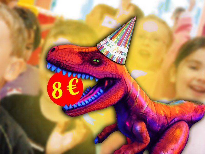 formule anniversaire à 8 Euros