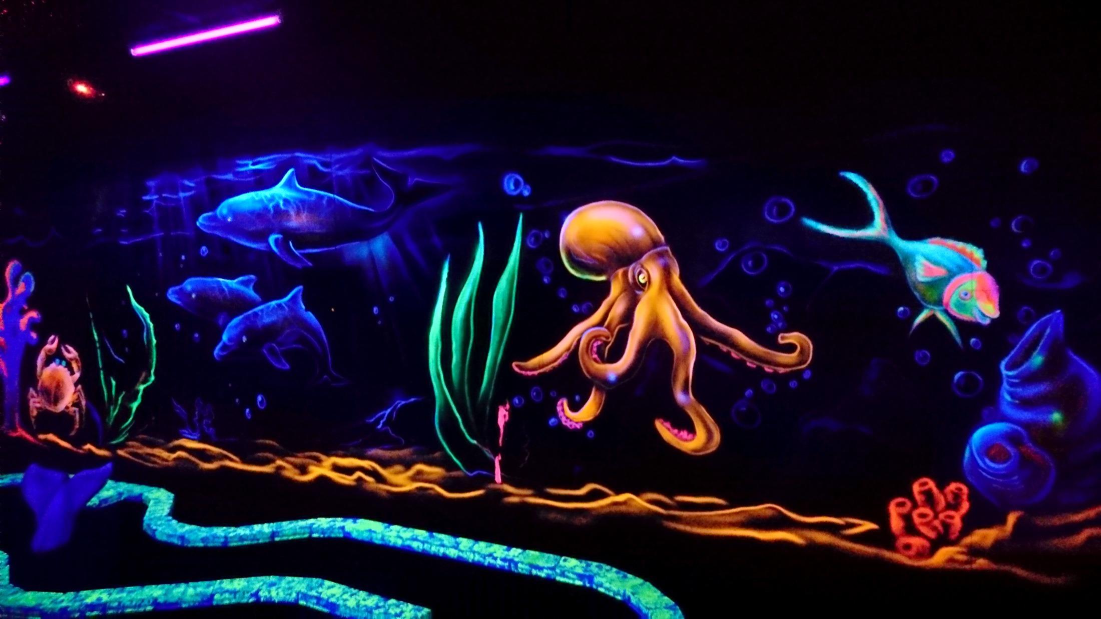 océan fluo
