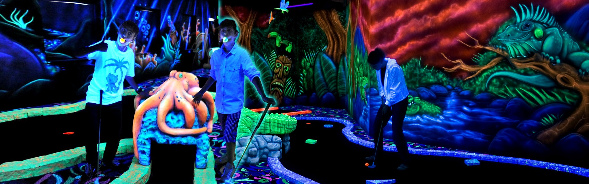 goolfy mini golf anniversaire